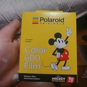 Mickey's 90th Birthday Polaroid 600 Film